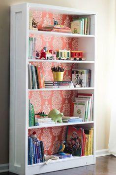 Bookshelf Makeover: Before & After