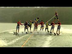 Pub Vittel : le ski nautique - ouaoua