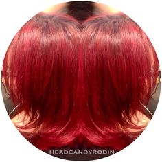 Fun dark purple rooted to dimensional bright red and #marsala color melt by Robin using Arctic Fox!! #salonheadcandy #arcticfoxhaircolor #colormelt #brighthair @arcticfoxhaircolor Follow her on Instagram @headcandyrobin #headcandyrobin