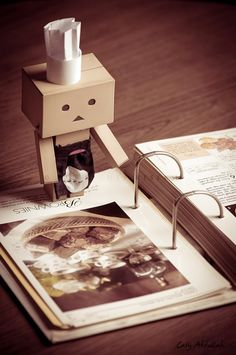 I love the little box guy