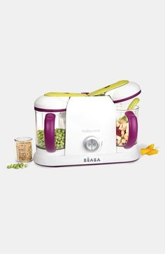 Free shipping and returns on BEABA Béaba 'Babycook Pro® 2X' Baby Food Maker at Nordstrom.com. A high-tech design helps you prepare fresh meals for baby with ease. The countertop appliance functions as a steamer, blender, warmer and defroster so you can craft meals in 15 minutes or less.