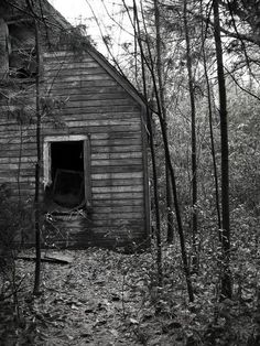 Lost and forgotten in the middle of the woods. At night it comes alive, full of heartache and despair.