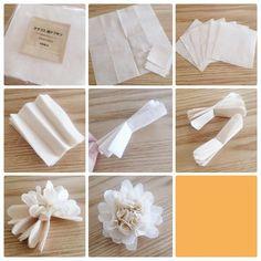 100均の紙ナプキン活用法!【ペパナプフラワー】の造花で小物を手作り♡ | CRASIA(クラシア)
