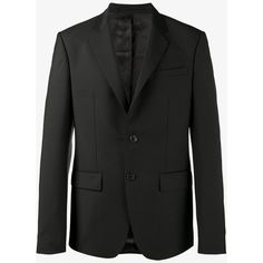 Givenchy Single Breasted Blazer (€1.270) ❤ liked on Polyvore featuring men's fashion, men's clothing, men's sportcoats, men's urban apparel, givenchy mens clothing, men's sportcoats and blazers and urban mens clothing