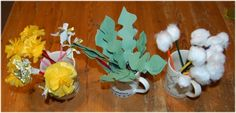 Craft and activities for dandelions