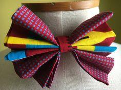 Gentlemen Ankara Bow Tie Men's Bow-tieAfrican Men's by Ribonhouse
