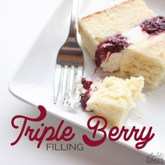 Triple Berry Filling • Avalon Cakes