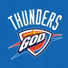 13abdd718c0 Christian sports parody t-shirt designs for Thunder fans.