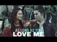 ►►As long as you love me◄◄ Dianne Doan, Disney Descendants 2, Disney Channel Movies, Mal And Evie, Booboo Stewart, I Love You, My Love, Jay, Youtube