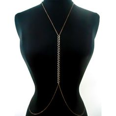 Fascinating piece of jewelry. Malina Body Harness by Tonika Lam of Clade & Vine. $44 at fab.com