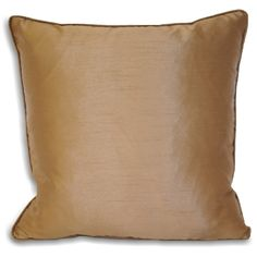 Add just a dash of natural and calming colour to your room with the lovely latte brown Riva Paoletti Fiji cushion, a bargain for only £4.99