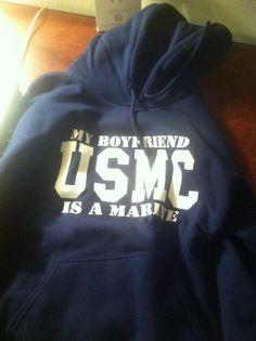 My Boyfriend is a Marine <3 USMC