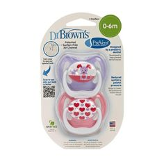 Dr Browns PreVent Classic Pacifier Stage 1 06m  Unique PinkPurple 2Pack -- See this great product.Note:It is affiliate link to Amazon.