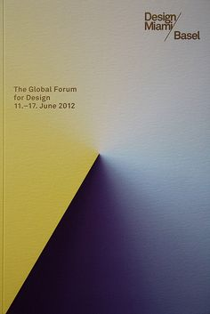 Catalogue Design Miami Basel 2012 by Madethought by bcmng, via Flickr