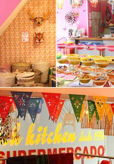 kitsch kitchen in Amsterdam via sfgirlbybay