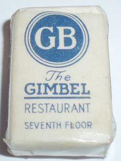 THE GIMBEL RESTAURANT NEW YORK N.Y.