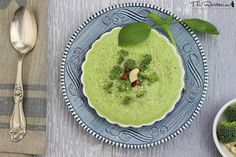 This raw cream of broccoli soup uses cashews as the cream base. It tastes surprisingly like traditional soup - but without the dairy. A blender is required.