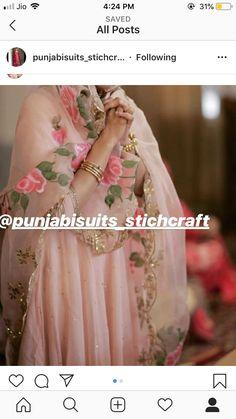 Punjabi Wedding Suit, Punjabi Suits Party Wear, Party Wear Indian Dresses, Pakistani Fashion Party Wear, Indian Wedding Wear, Dress Indian Style, Wedding Suits, Indian Outfits, Punjabi Suit Boutique