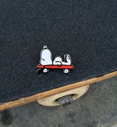 Image of Tired Eyes X Renato Flores Snoopy pin (hard enamel)