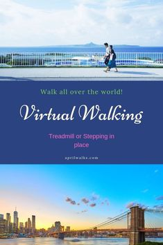 Virtual Walks across USA and all over the world! You can use with your treadmill or just stepping in place indoors. Virtual Travel, Virtual Tour, Walking Videos, Fitness Tips, Health Fitness, Fitness Exercises, Virtual Field Trips, Deep Relaxation, Walking Tour