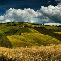 Panoramic view near Atessa (CH)