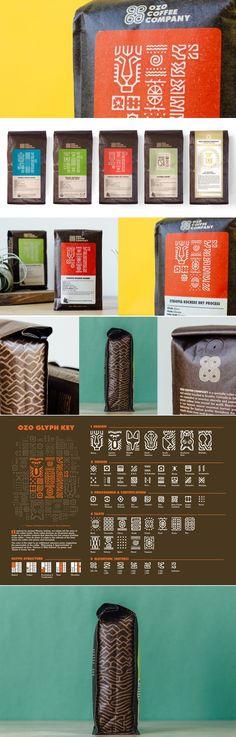 OZO Coffee — The Dieline - Branding & Packaging Design