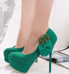 Green High Heels Fashion Shoes Image 9 Http Www Womans