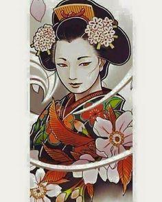 156 Best Japanese Geisha Tattoo Images In 2018 Geishas Japanese