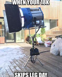 When your 18k skips leg day. #filmschool #indiefilm #moviemaker #filmmaker #shortfilm #filmfestivals #postproduction #cinematography #redcamera #filmdirector #indiefilmmaking #screenwriter #screenwriting #director #dop #dp #onset #redepic #reddragon #filmcrew #storytelling #videoproduction #actorlife #featurefilm #finalcut #filmmakers #behindthescenes