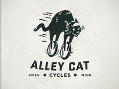 Alley Cat Cycles (love the cat's expression!)