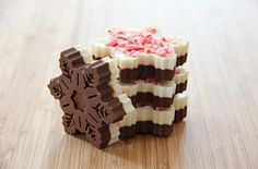 Snowflake Peppermint Bark - 5 Best Edible Gifts for the Holidays