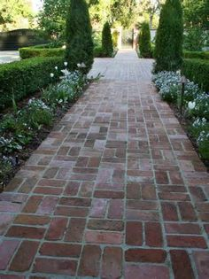 Image detail for -of landscaping and a sidewalk. My husband lined the bluestone sidewalk ...