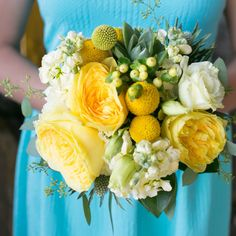 Brighten your #summerwedding decor with fruit-inspired colors Lemon Wedding Decor Wedding Reception Photos on WeddingWire