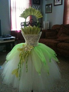 Princess Tiana Inspired Costume on Etsy, $50.00