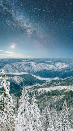 Sierra Snow in the Mountains by Lenka Vodicka of Lenkaland Photography