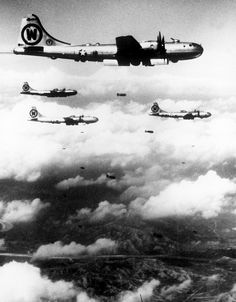 Wings of Destruction. When members of the United Nations Forces moved north over the 38th Parallel into the well-known industrial cities, they found gutted buildings and mounds of twisted steel, that were formerly vital to Communistic Korea's military forces. Targets such as the large marshaling yards of Pyongyang, the oil refinery at Wonsan, and the key Kan-ni-Arsenal near Pyongyang.