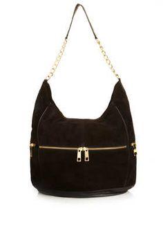 Chain Strap Work Bag - Bags & Purses  - Bags & Accessories ~j