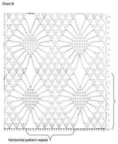 Crochet Skirts Crochet chart for women dress Crochet Jumper Pattern, Motif Bikini Crochet, Crochet Motifs, Crochet Diagram, Crochet Chart, Crochet Beanie, Filet Crochet, Crochet Stitches, Crochet Patterns