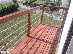 Tarasy z deski ryflowanej, balkony, balustrady Szczawin Kolonia - image 1