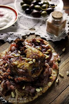 Musakhan Recipe from Palestine.
