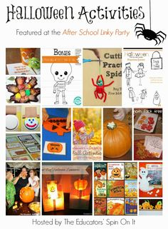 Halloween Activities for Kids. Grab a few ideas to make Halloween extra fun this weekend. Halloween Arts And Crafts, Halloween Activities For Kids, Easy Fall Crafts, Halloween Games, Holiday Activities, Holidays Halloween, Halloween Kids, Holiday Crafts, Preschool Halloween