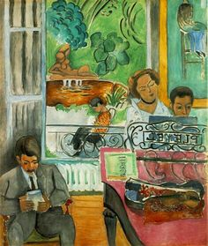 La clase de musica Matisse
