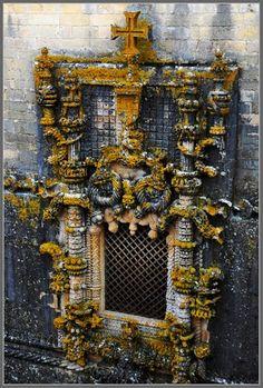 Manueline Window of the Convento de Cristo, Tomar, Portugal