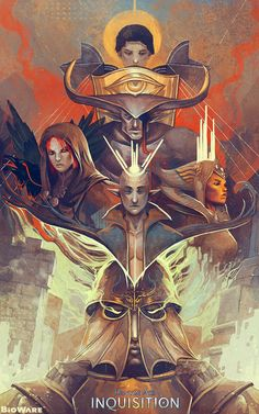 Dragon Age: The Hope of Thedas - Created by Widdershins-Works Up for voting in Bioware's poster contest, you can vote for it here.