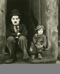Charlie Chaplin and Jackie Coogan in 'The Kid' (1921)