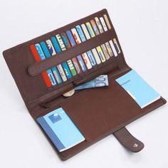 Porte-cartes et porte-chéquier cuir #accessoires #Blancheporte