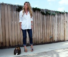 10 Ways To Wear A White Shirt | .A Well Styled Life