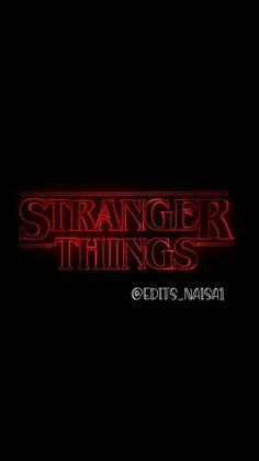 Letras Stranger Things, Stranger Things Videos, Stranger Things Premiere, Stranger Things Logo, Stranger Things Actors, Stranger Things Have Happened, Bobby Brown Stranger Things, Stranger Things Aesthetic, Eleven Stranger Things