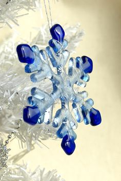 handmade glass ornament ideas