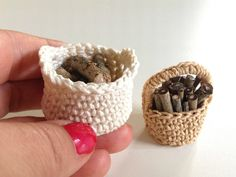 A personal favorite from my Etsy shop https://www.etsy.com/se-en/listing/531759354/miniature-basket-with-fire-wood-two